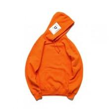 STNW美式街头橙色连帽卫衣
